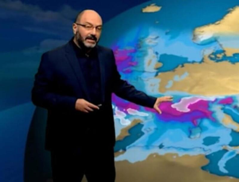 Χτυπάει καμπανάκι για τον καιρό ο Σάκης Αρναούτογλου - Προειδοποιεί για ισχυρούς ανέμους
