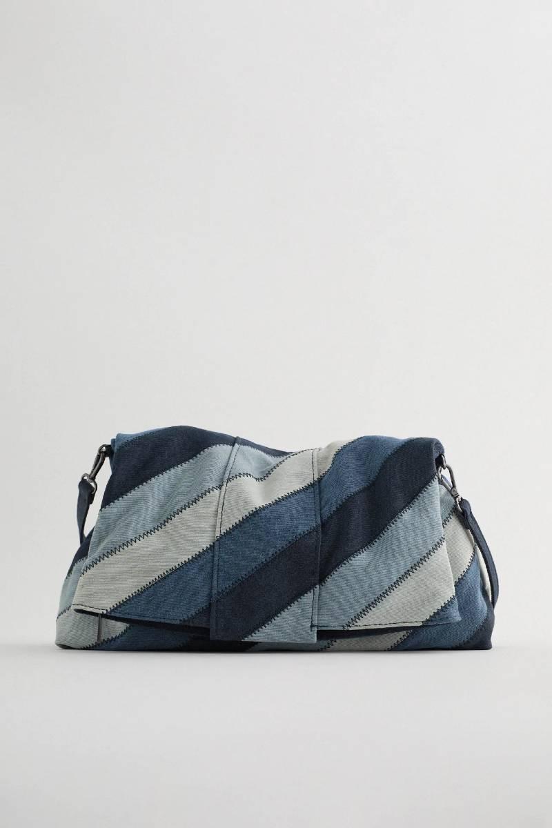 ZARA ντένιμ τσάντα