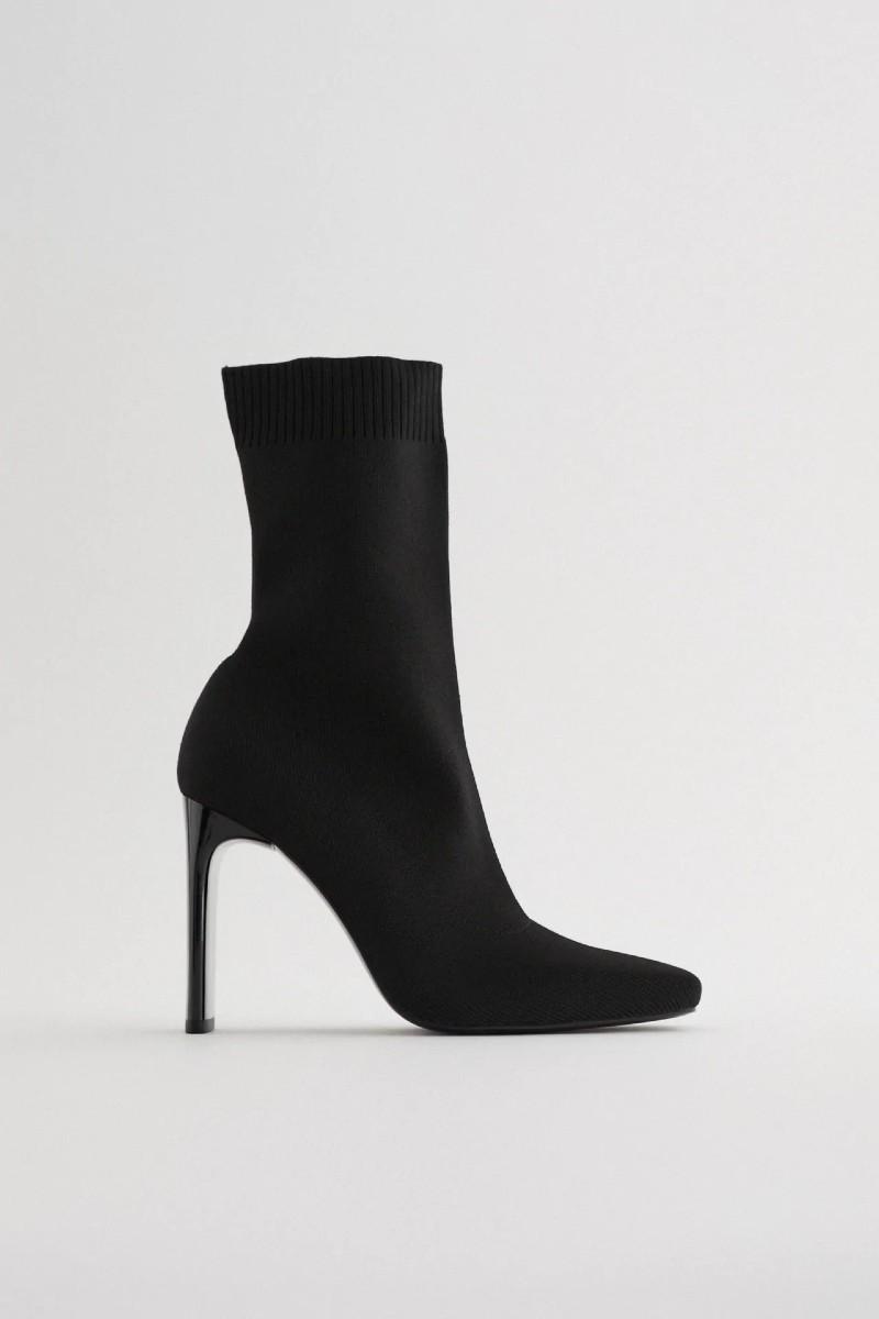 Zara νέα συλλογή μποτάκι κάλτσα