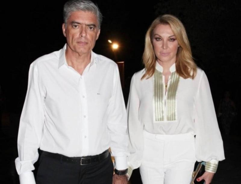 Έφυγε από την Αθήνα η Τατιάνα Στεφανίδου με τον Νίκο Ευαγγελάτο μετά τα ευχάριστα νέα