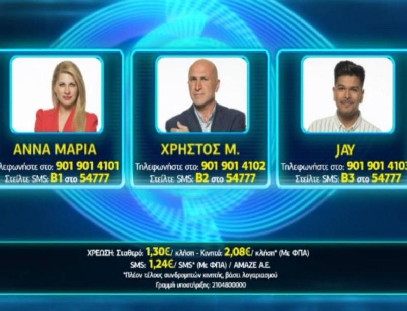 Big Brother - Mega spoiler: Αυτός φεύγει σήμερα 4/9 από το σπίτι