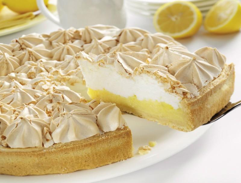 lemon pie τάρτα λεμόνι