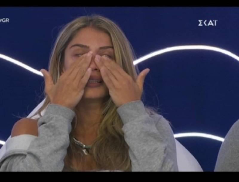 Big Brother: Ξέσπασε σε κλάματα η Σοφία - Η συγκινητική ιστορία για τον πατέρα της