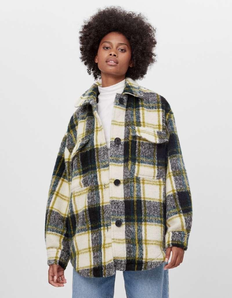 Bershka overshirt παλτό