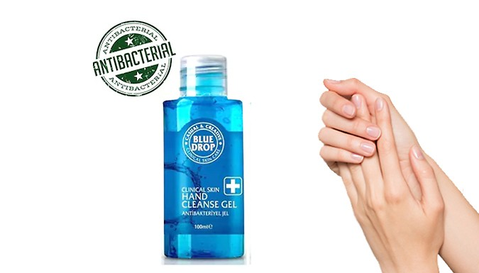 BLU DROP CLINICAL SKIN HANDCLEANSE GEL απόσυρση από τον ΕΟΦ