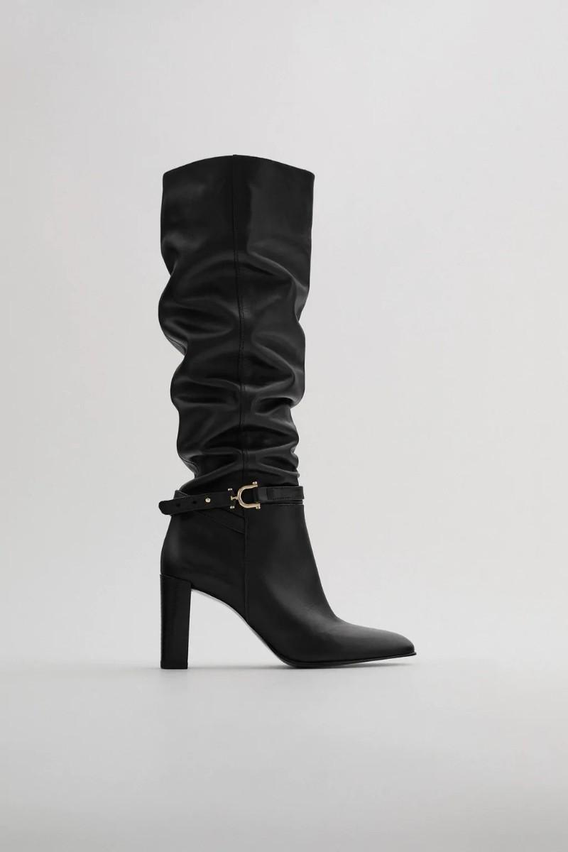 Ζάρα μπότα μαύρη