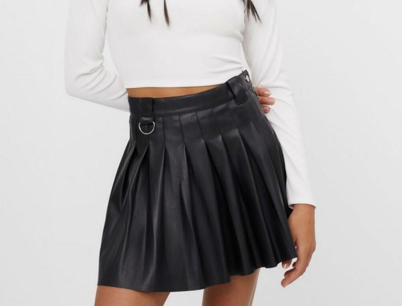 Μαύρη φούστα bershka