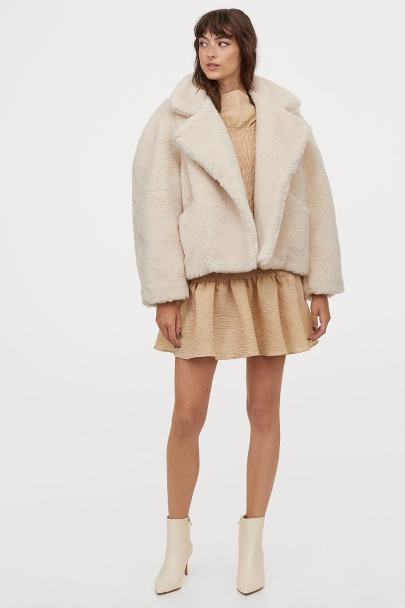 H&M γούνα