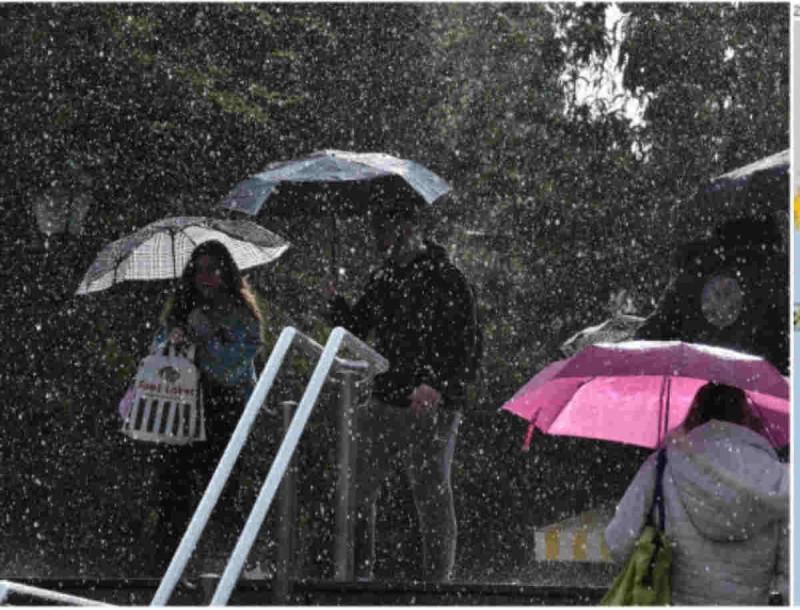 Καιρός: Νέο κύμα βροχοπτώσεων και καταιγίδων σήμερα -Και η Αττική στο «μάτι» της κακοκαιρίας