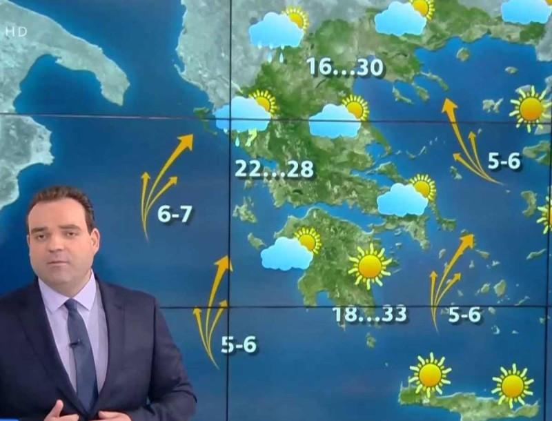 Προειδοποιεί ο Κλέαρχος Μανουσάκης: Έρχονται καταιγίδες - Πότε θα «χτυπήσουν»;