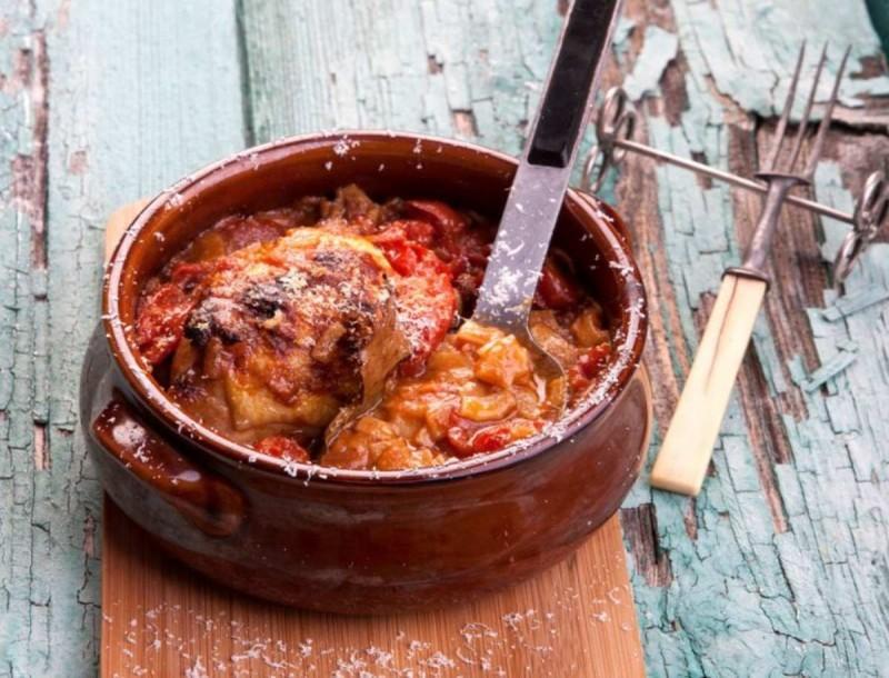 Κοτόπουλο με χυλοπίτες