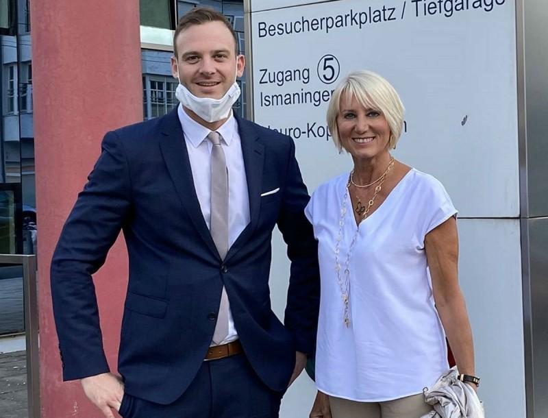 Νατάσα Καραμανλή: Η φωτογραφία μέσα από νοσοκομείο της Γερμανίας