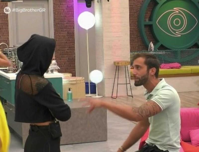 Big Brother: «Κομμένη και η καλημέρα» - Άγριος καυγάς ανάμεσα στη Ραμόνα και τον Δημήτρη Κεχαγιά