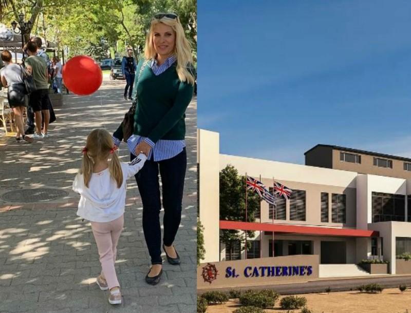 Ελένη Μενεγάκη: Εξωπραγματικό το ιδιωτικό σχολείο που φοιτά η κόρη της, Μαρίνα! Δείτε φωτογραφίες από το εσωτερικό...