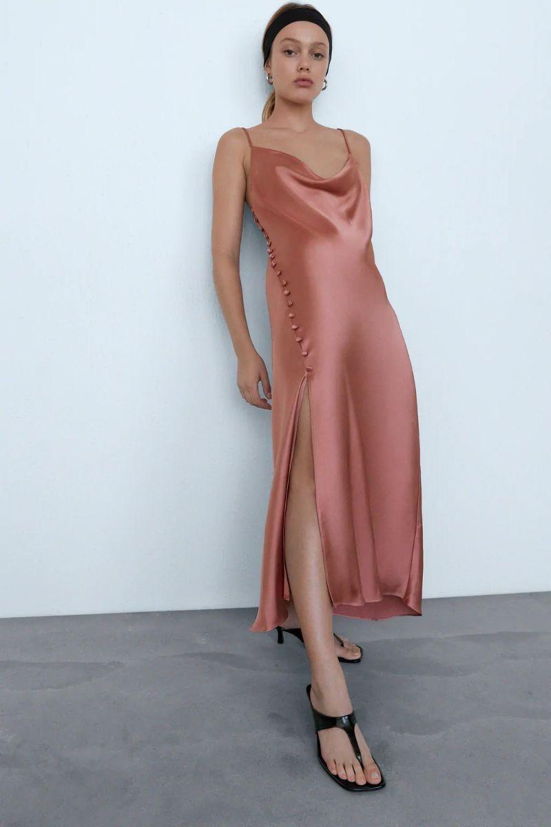 Zara lingerie φόρεμα