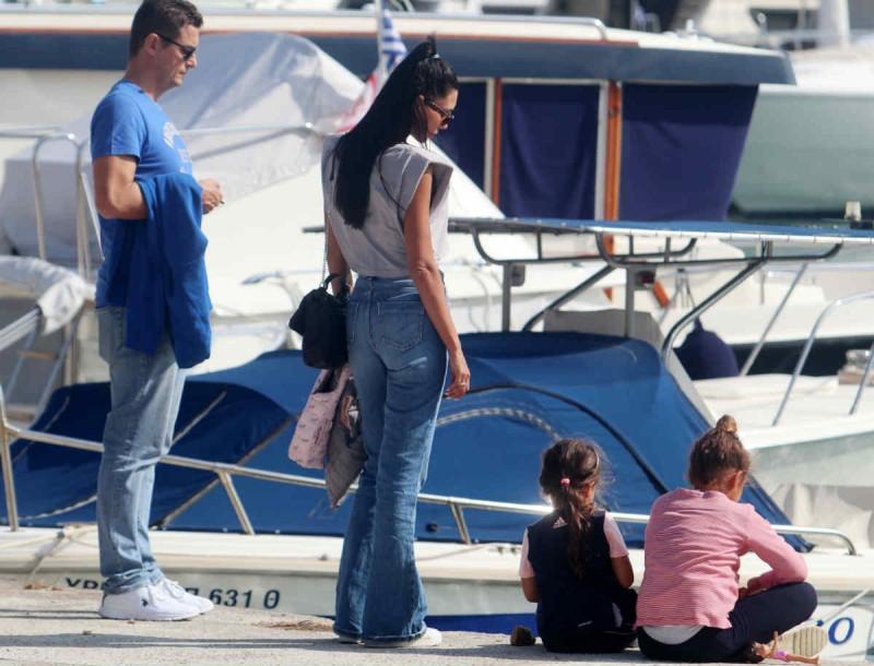 Αντώνης Σρόιτερ με την οικογένεια του