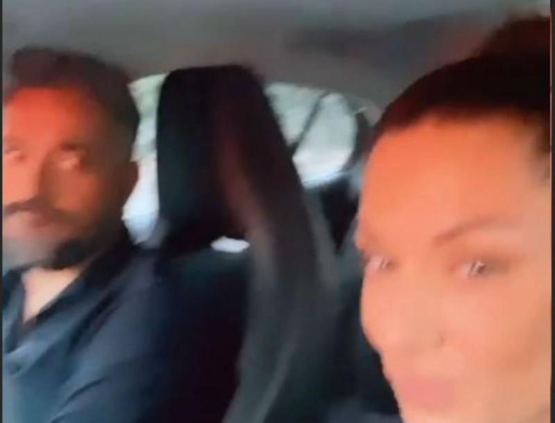Βάσω Λασκαράκη: Απίστευτο σκηνικό μέσα στο αμάξι με τον Σουλτάτο - Το τράβηξε με την κάμερα της