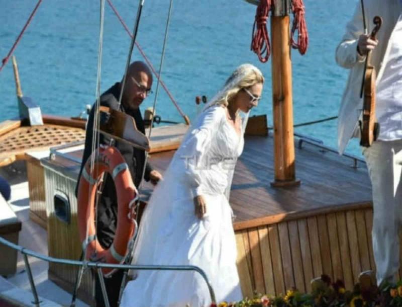 Ζουγανέλη - Δημητρίου: Οι πρώτες φωτογραφίες του γάμου τους στις Σπέτσες!