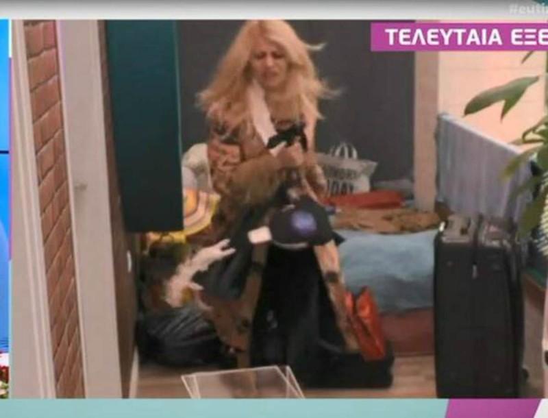 Big Brother: Κατέρρευσε ψυχολογικά η Άννα Μαρία - Έπεσε με μανία πάνω στην πόρτα για να φύγει