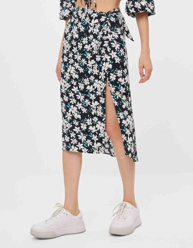 Φλοραλ εμπριμέ φούστα