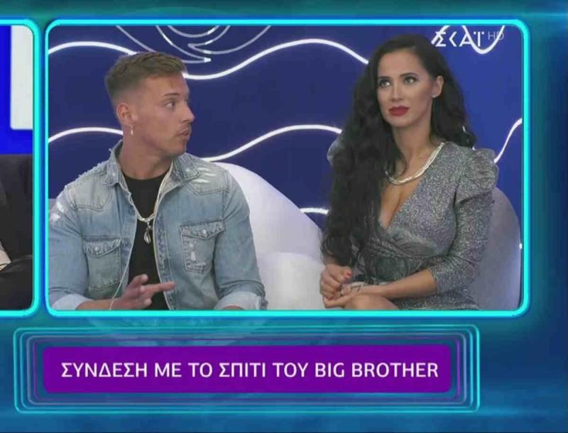 Big Brother: Τίτλοι τέλους για Παναγιώτη και Χριστίνα