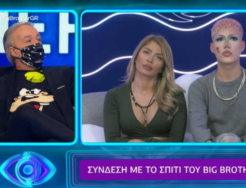 Big Brother: Ο Μικρούτσικος «έστησε» στον τοίχο τον Θέμη - «Πώς γίνεται ένα παιδί 18 χρονών να..»