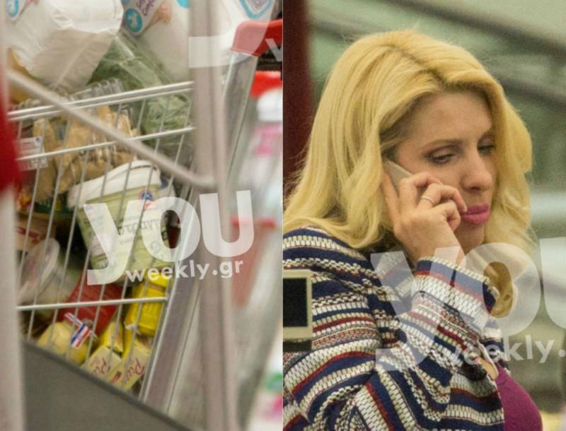 Εφοδιάστηκαν με το μισό σούπερ μάρκετ Μενεγάκη - Παντζόπουλος! Φωτογραφίες ντοκουμέντο με φίσκα καρότσι