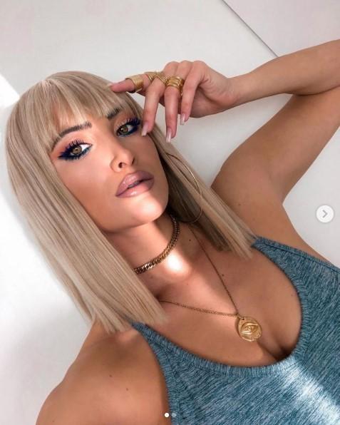 Ιωάννα Τούνη μαλλιά