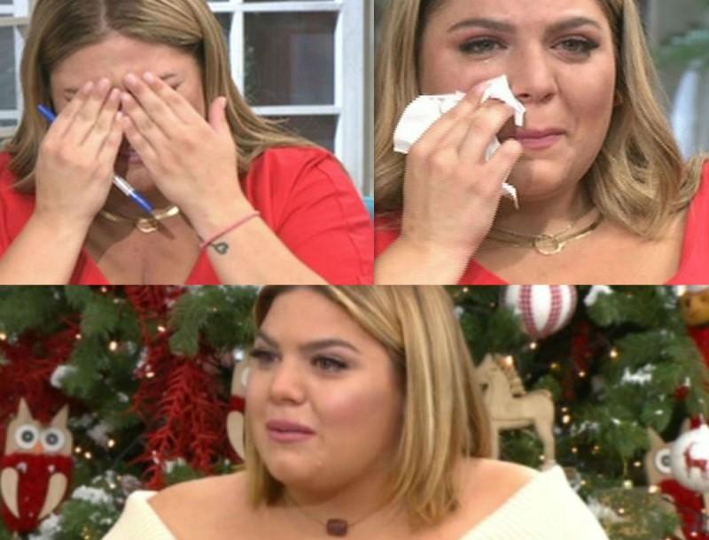 Φτάνει πια: Η Δανάη Μπάρκα από που... σταματάει να κλαίει; Πόσο δράμα να αντέξει η ελληνική TV