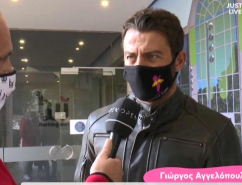 Ο Γιώργος Αγγελόπουλος αποκαλύπτει για το τηλεοπτικό του μέλλον - «Καλύτερα να μιλήσει ο...»
