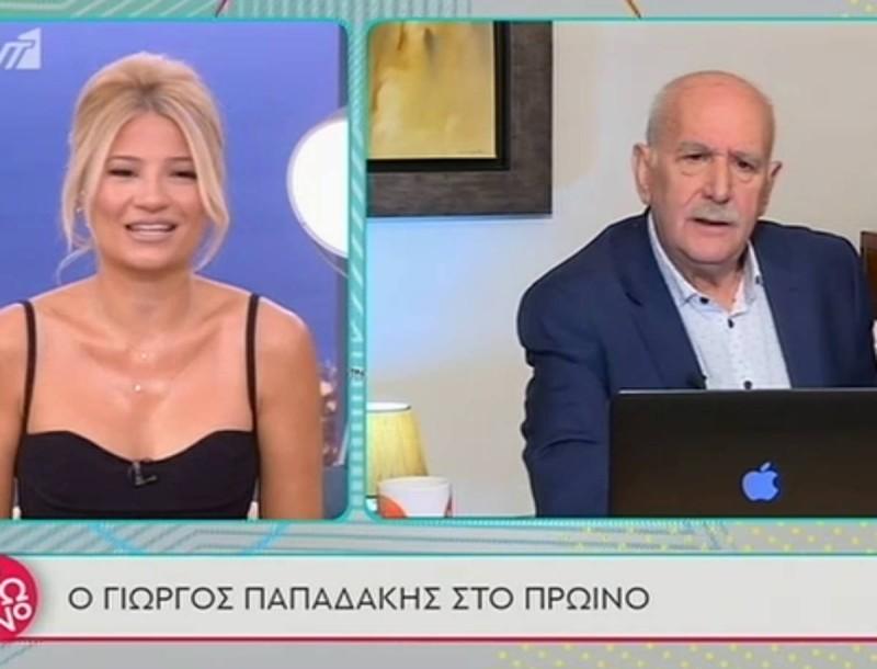 Πρωινό: Ανέβηκαν οι τόνοι μεταξύ Παπαδάκη - Σκορδά:
