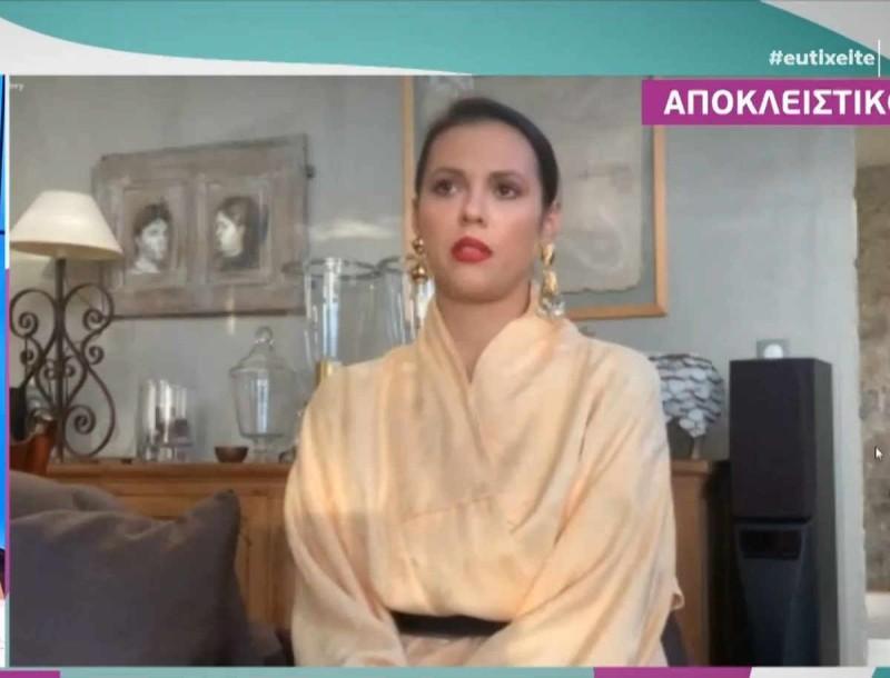Η Ραμόνα στο πλευρό της Σάσας Σταμάτη:
