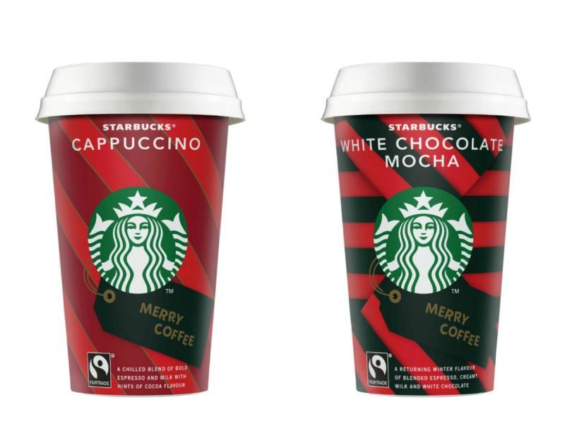 Μerry Xmas με τέλεια δώρα από τα Starbucks Ready To Drink!