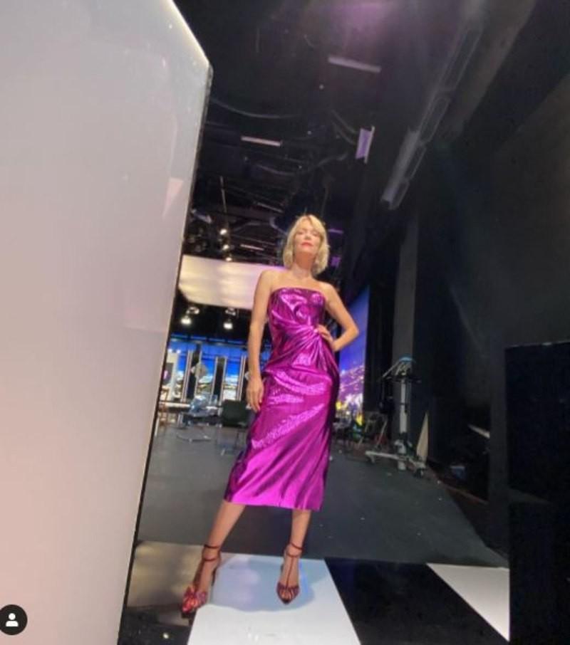 Βίκυ Καγιά GNTM 3 STAR φόρεμα
