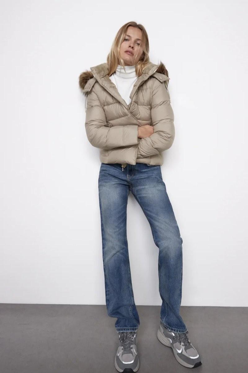 Zara υδροαπωθητικό μπουφάν