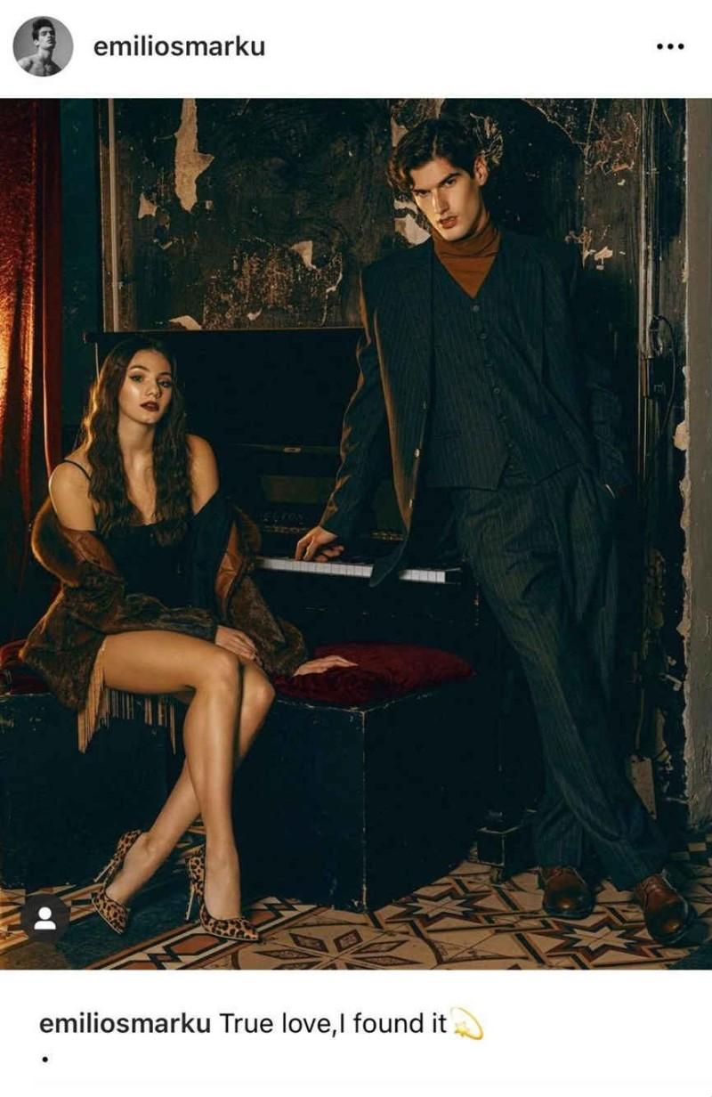 Ο Αιμιλιάνο δημοσίευσε την πρώτη του φωτογραφία με την Μαριαγάπη