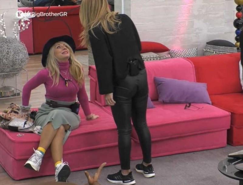 Big Brother: «Σκοτώθηκαν» Άννα Μαρία και Σοφία - «Βούλωσε το στόμα σου»
