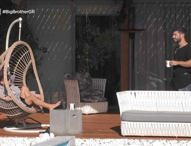 Big Brother: Ήρθαν ξανά κοντά Σοφία και Γρηγόρης - «Μην με πλησιάζεις και σε βγάλουνε...»