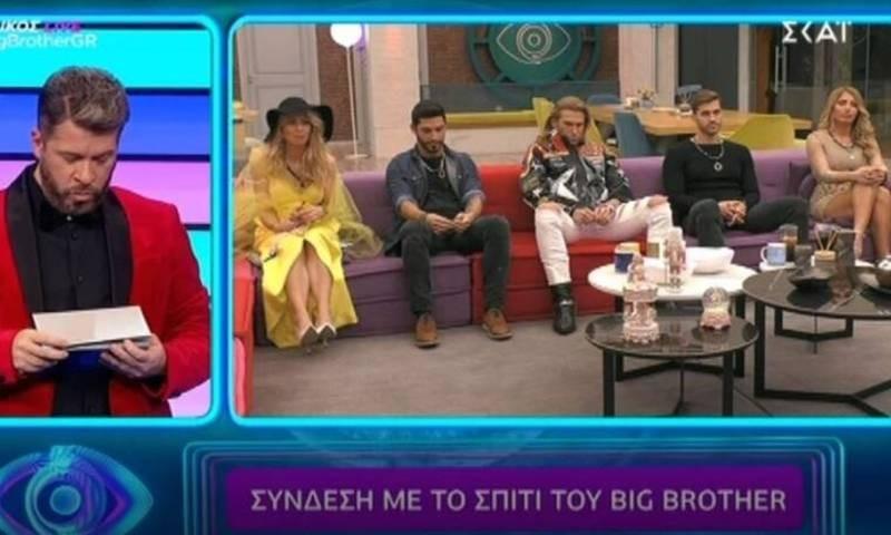 Big Brother τελικός αποχώρηση Γρηγόρη