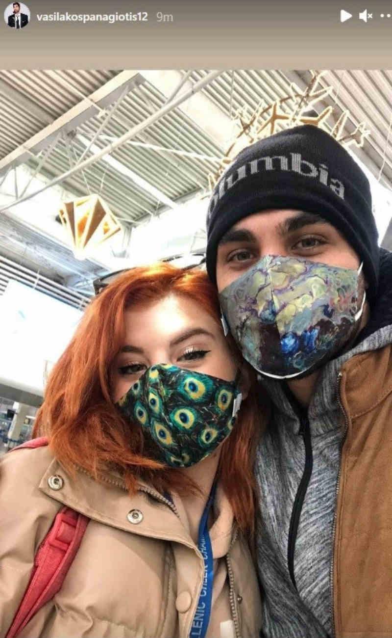 Παναγιώτης - Νικολέττα αεροδρόμιο