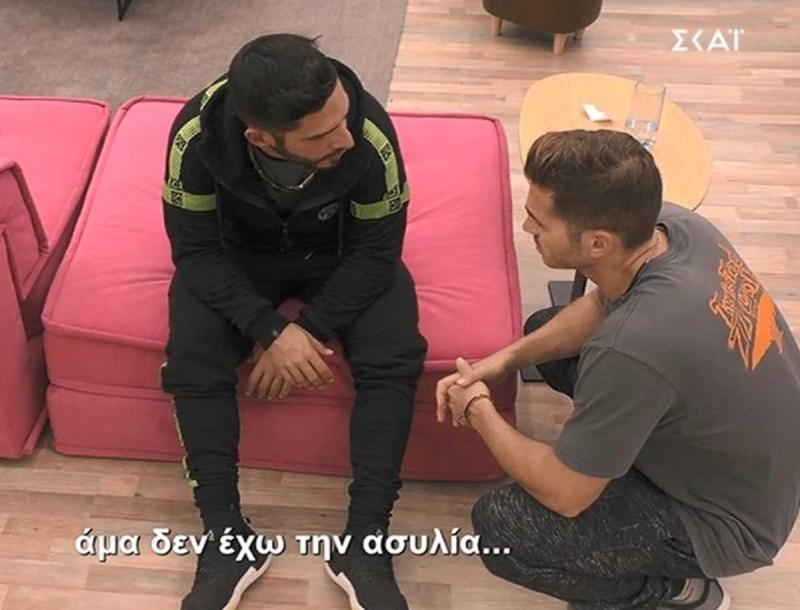 Big Brother: Έξαλλος ο Γρηγόρης με τον Κεχαγιά - «Θα τον ξεφτιλίσω σε όλη την Ελλάδα»