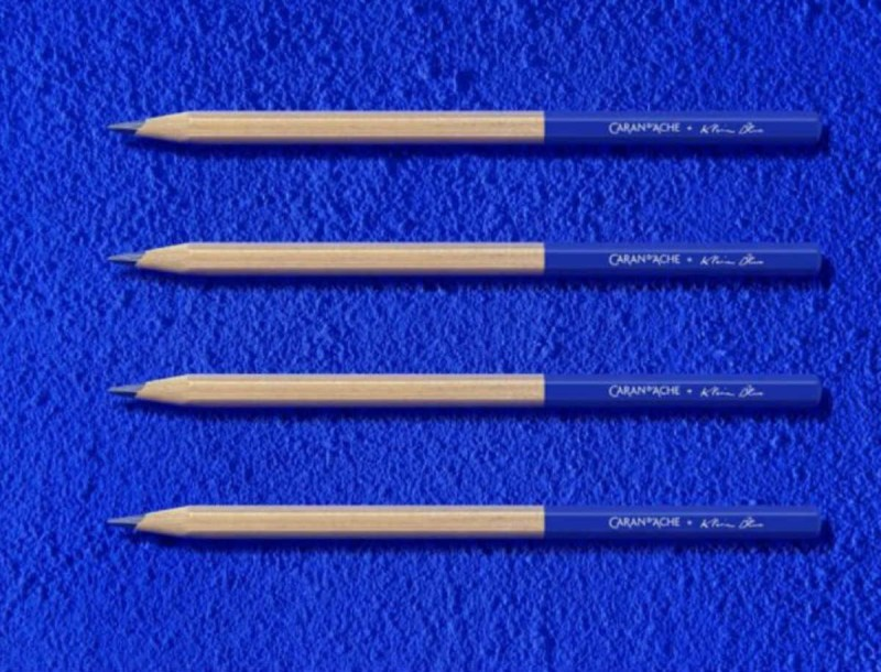 Yves Klein X Caran d' Ache : Μια limited edition συνεργασία που δοξάζει έναν από τους μεγαλύτερους conceptual artists