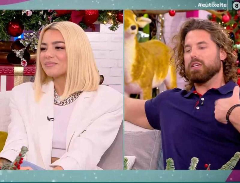 Απασφάλισε ο Νάσος Παπαργυρόπουλος - Είναι τελικά ζευγάρι με τη Ζόζεφιν;