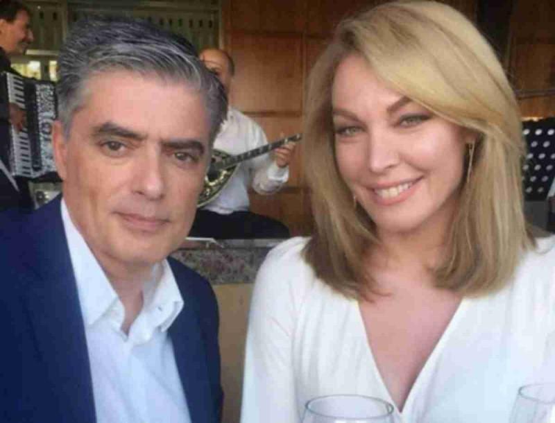 Τατιάνα Στεφανίδου - Νίκος Ευαγγελάτος: Σαν παλάτι το σπίτι τους! Κατάλευκα όλα τα έπιπλα