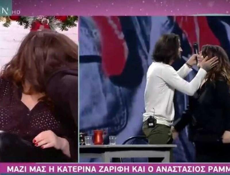 Κατερίνα Ζαρίφη - Αναστάσιος Ράμμος: Φιλήθηκαν ξανά στο στόμα - Τι συμβαίνει ανάμεσά τους;