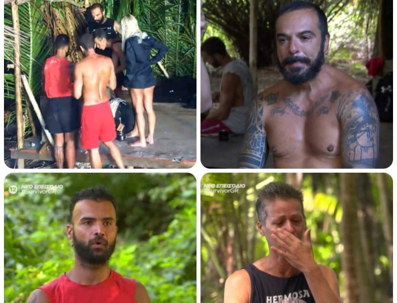 Survivor 4 - highlights 24/1: Τα κλάματα Τριαντάφυλλου - Σοφίας, η ήττα και οι άγριοι τσακωμοί