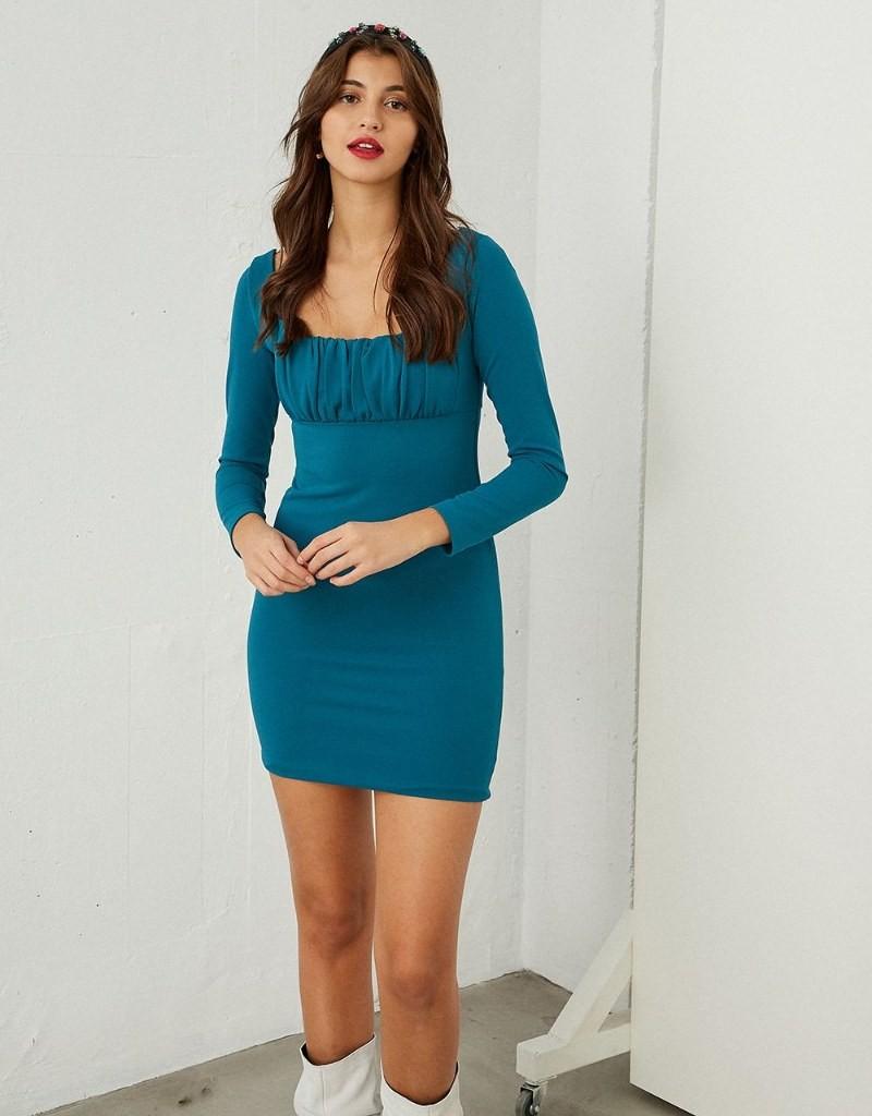 BSB μίνι φόρεμα με σούρες