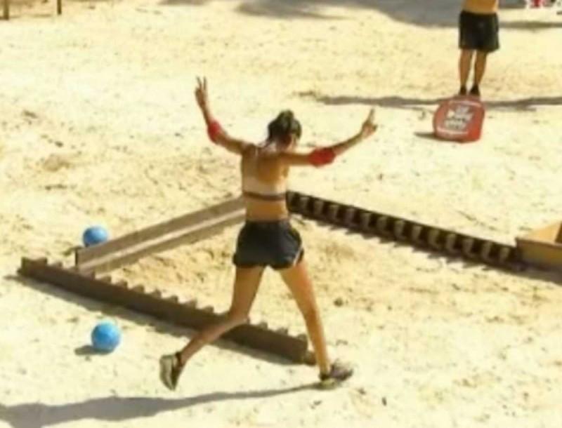 Survivor 4: Η Βέλλη έκανε την ανατροπή και σημείωσε νίκες - Ιστορική στιγμή στο αγώνισμα