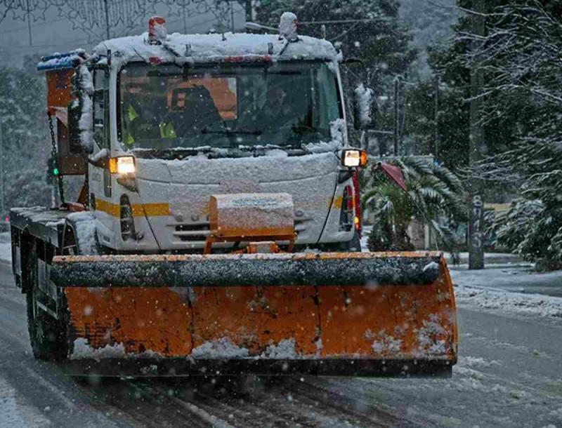 Κακοκαιρία «Λέανδρος»: Λευκό «πέπλο» πάνω από τη χώρα - Χιόνια και στην Αττική