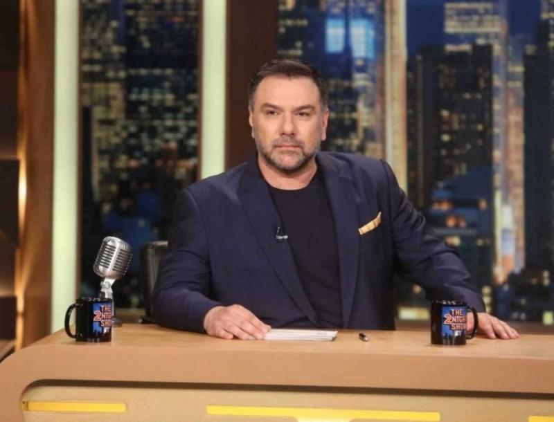 Γρηγόρης Αρναούτογλου: Αυτοί είναι οι αυριανοί (20/1) καλεσμένοι στο The 2night show